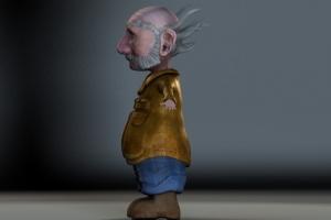 Gnome Side Profile View