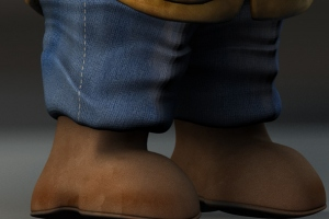 Gnome - Feet and Pants