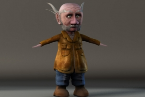 Gnome Full Body T-pose