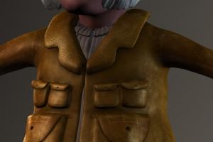 Gnome Jacket Details