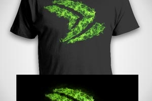 Nvidia Geforce T-shirt Contest Entry