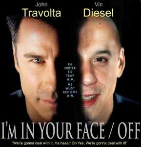 I'm in Your Face-Off