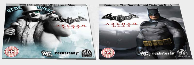Arkham City Collector's Edition Content