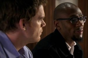 Dexter Morgan and Brother Sam Talk Demon