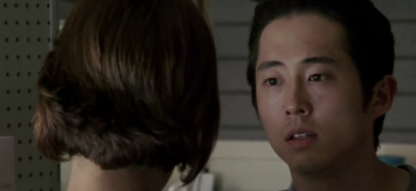 Glenn and Maggie - Walking Dead