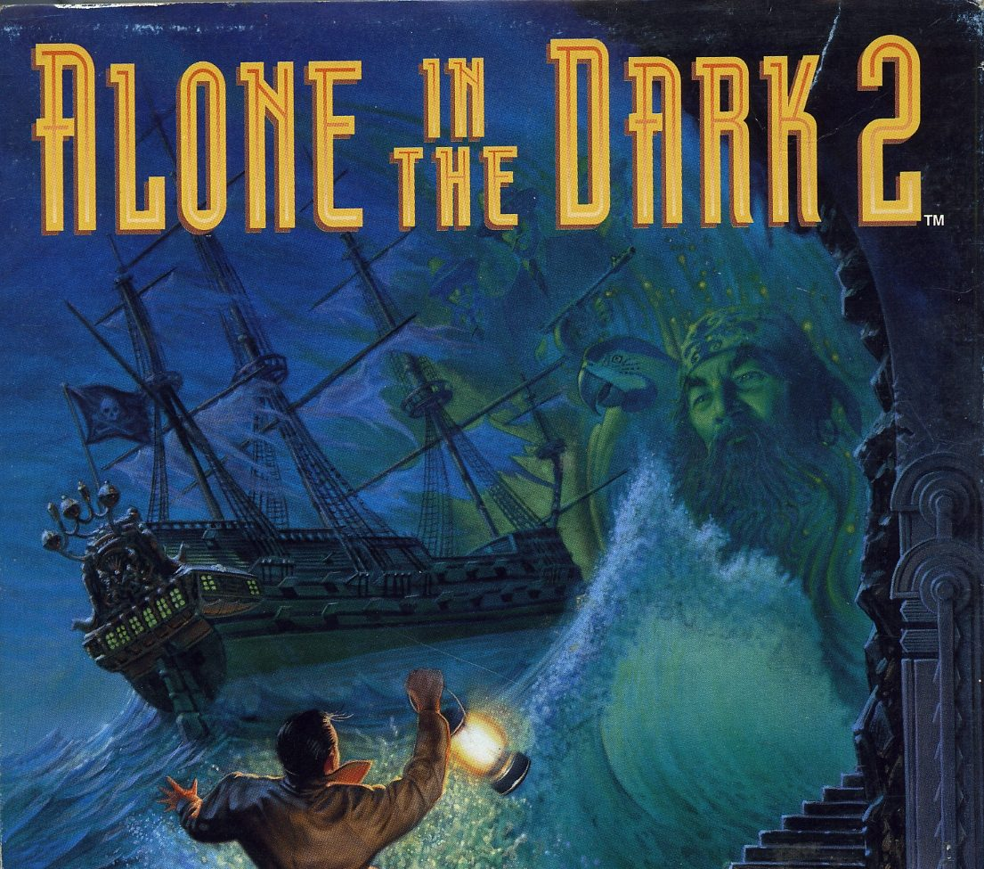 Alone in the Dark 2 Box Art