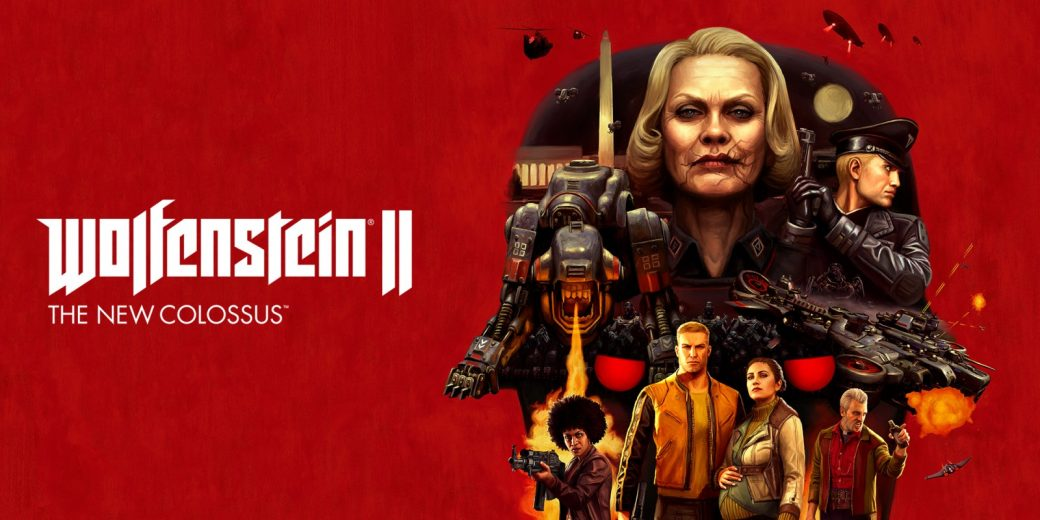 Wolfenstein II New Colossus Poster