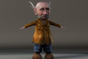 Gnome Full Body T-pose