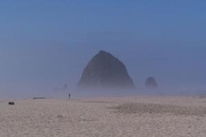 Oregon Coast Haystack Rock north