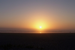 Oregon Coast Sunset - Seaside