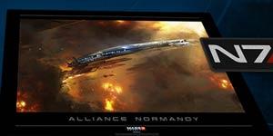Mass Effect 3 Lithograph Art