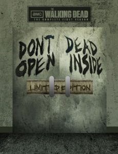 The Walking Dead Limited Edition Tin
