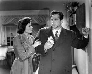 Dana Andrews and Gene Tierney - Where the Sidewalk Ends