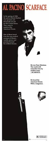 Scarface Theatrical Poster