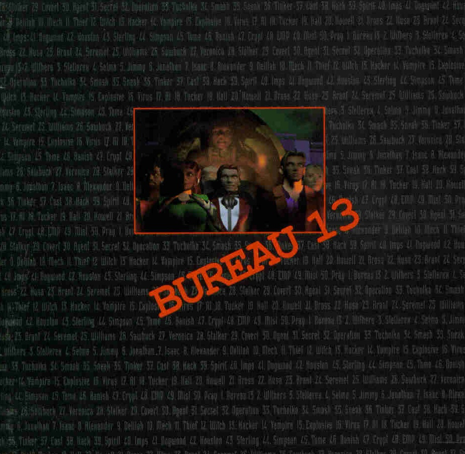 Bureau 13 graphic